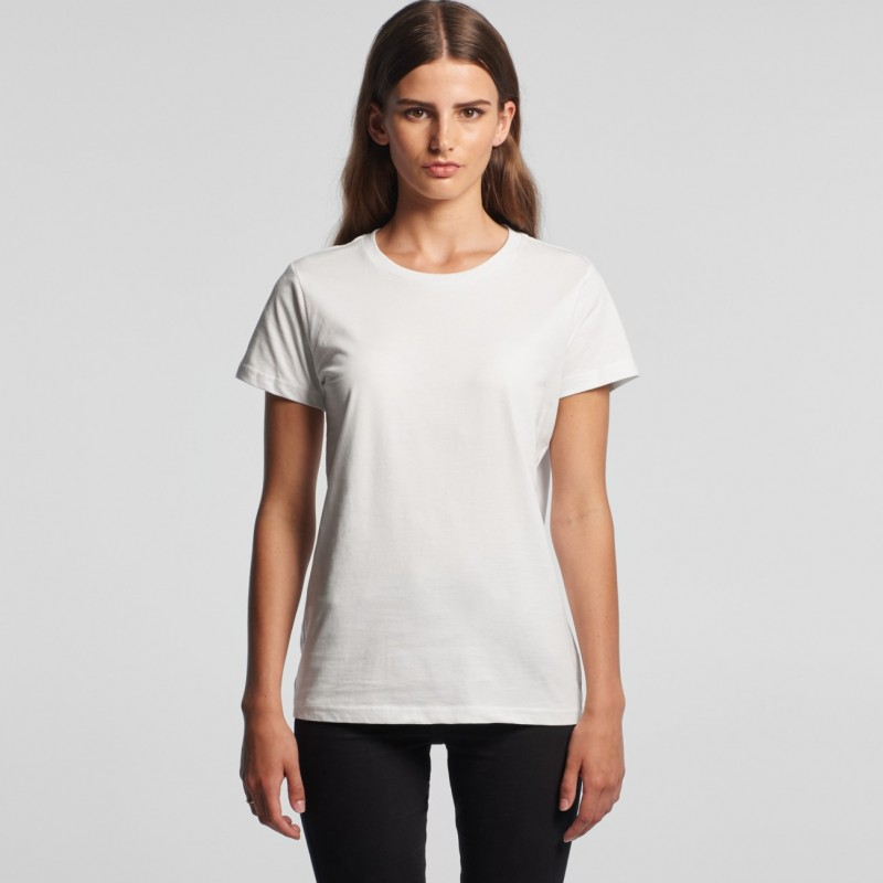 ASColour womens tees maple tees as colour clothing dtg printers in sydney