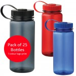 Montego Sports Water Drink Bottle - Pack of 25 Bottles