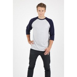 Mens 3/4 Sleeve Raglan Tees