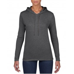 Womens Lightweight Long Sleeve Hooded Tee