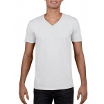 Gildan Mens V-Neck T-Shirt