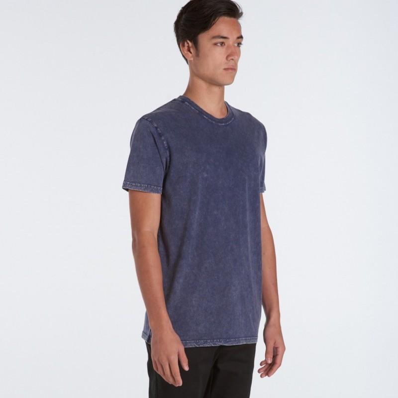 Custom T Shirts As Colour Stone Wash Tee
