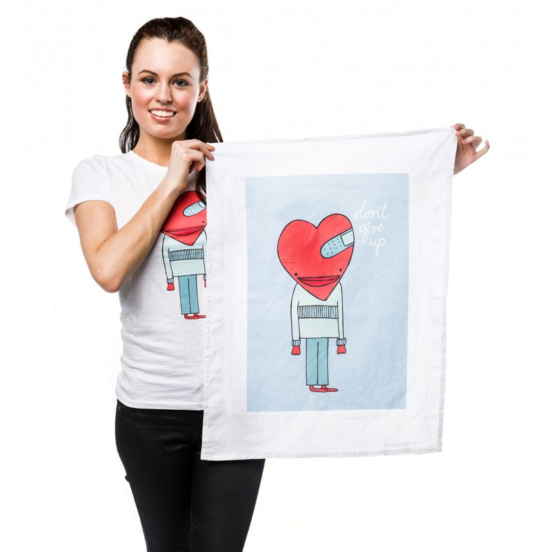 personalised tea towel printing sydney customised online